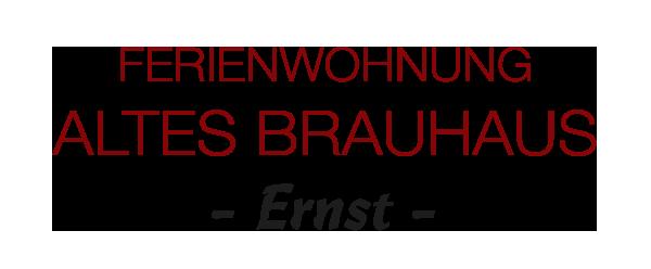 Ferienwohnung Alte Brauerei in Rauhenebrach / Unterfranken Logo